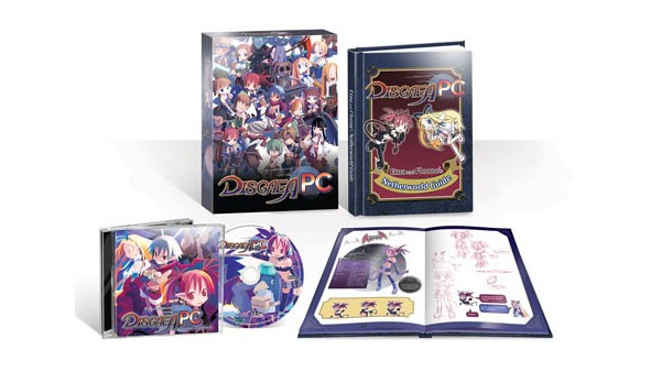 disgaea pc steam nis america collector's physical edition copy
