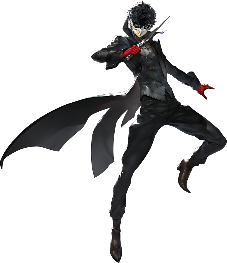 persona 5 hero phantom thief outfit