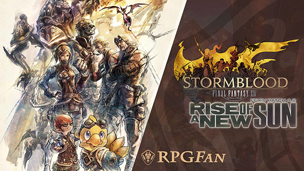 Final Fantasy XIV Stormblood Rise of a New Sun