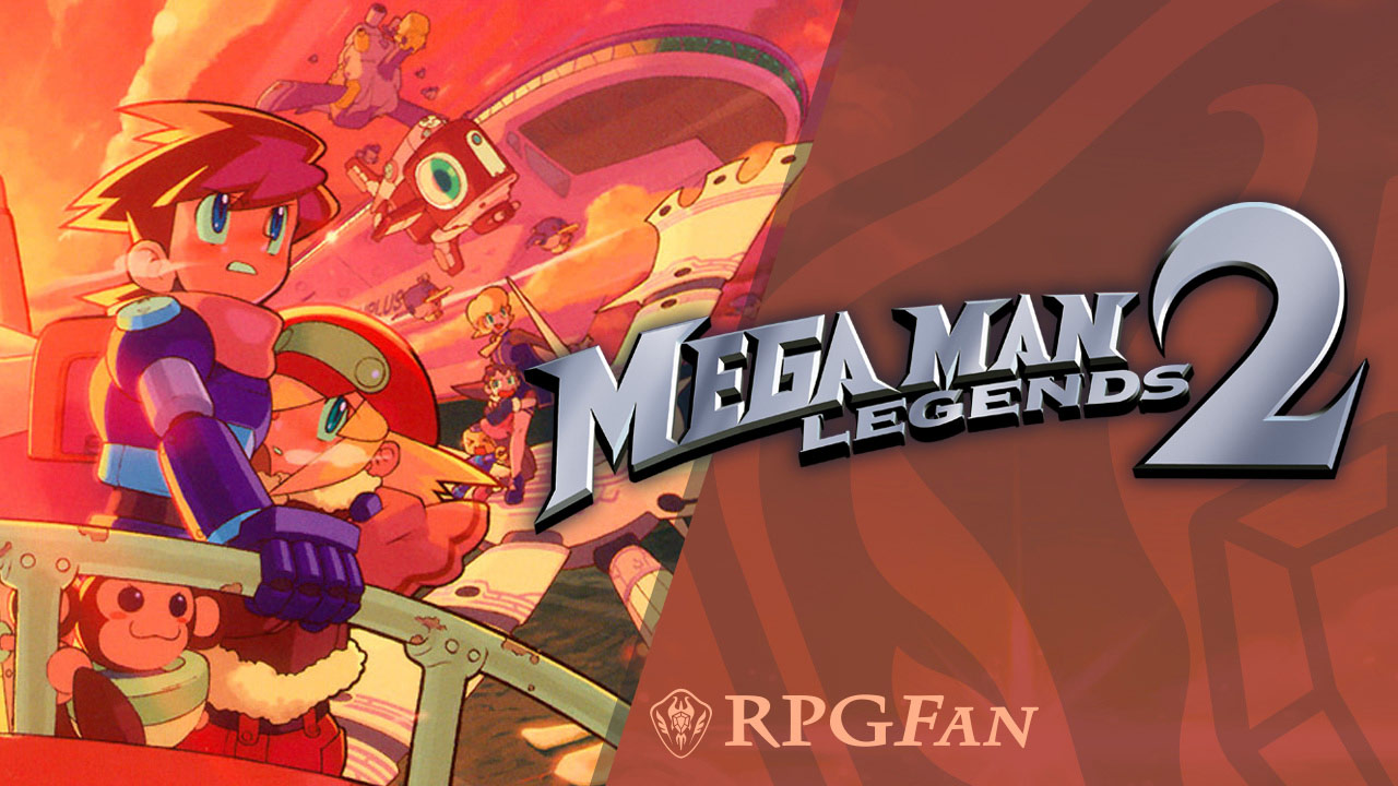 Mega Man Legends 2 Banner