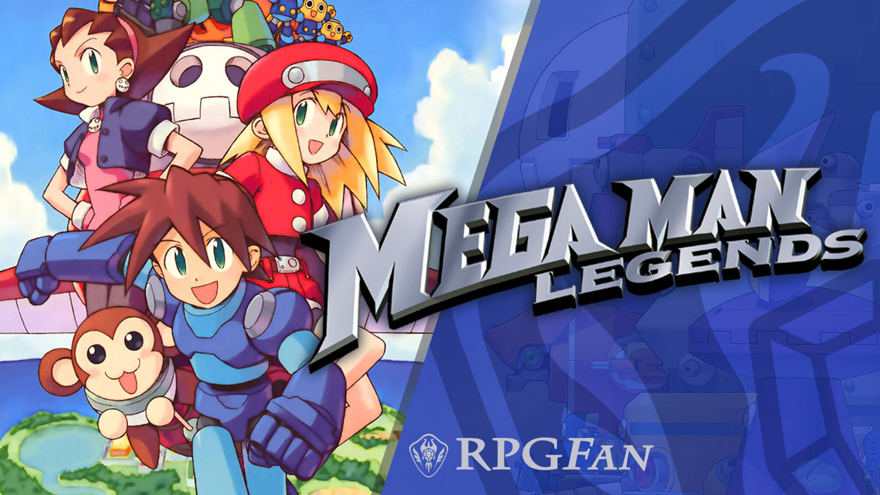 Mega Man Legends Banner